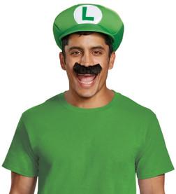 Adult Luigi Hat and Mustache Kit