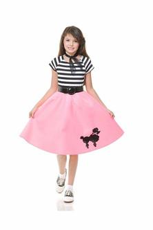 Bubble Gum Poodle Skirt SM