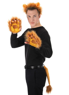 Lion Ears & Tail Plush