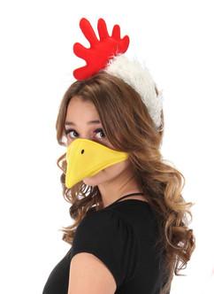 Chicken Headband & Beak Kit