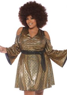 70s Disco Doll Costume - Plus Size