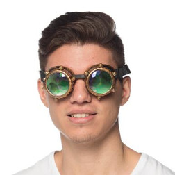 Steampunk Holograpgic Goggles