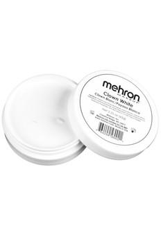 Mehron Clown White Makeup 2.25oz