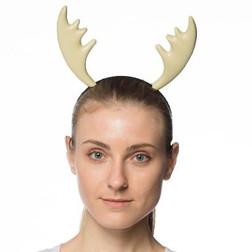 Supersoft Moose Horns Headband