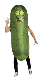 Rick & Morty Pickle Rick Inflatable Costume