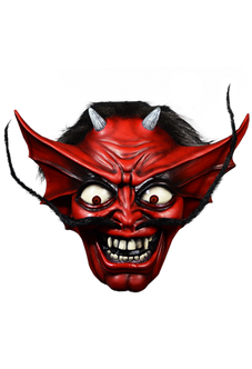 Iron Maiden The Number Of The Beast Devil Eddie Mask