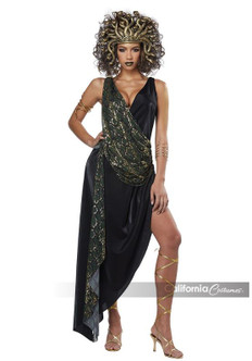 Womens Sedusa Sexy Medusa Greek Costume