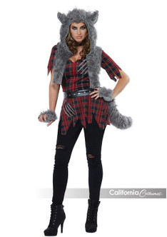 Womens She-Wolf Full Moon Werewolf Costume