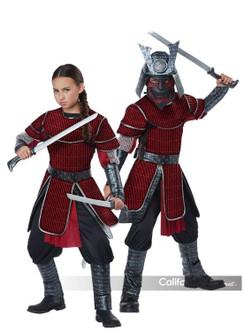 Kids Deluxe Samurai Ninja Shinobi Costume