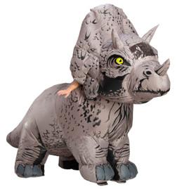 Adult Jurasic World: Fallen Kingdom Triceratops Inflatable Costume