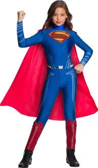 Girls Justice League Licensed Superman Jumpsuit Costume