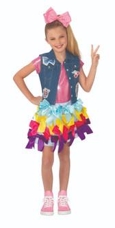Girls Jojo Siwa Licensed Bow Dress Costume