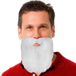Plush White Santa Facial Hair