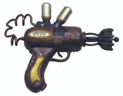 Vintage Coil Space Prop Steampunk Gun