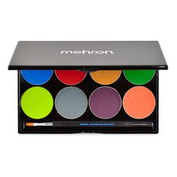 Mehron Paradise Makeup AQ™ - 8 Color Palette - Tropical