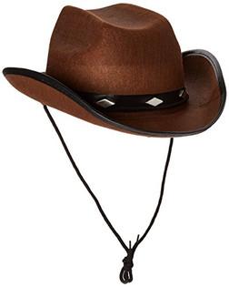 Studded Felt Cowboy Hat