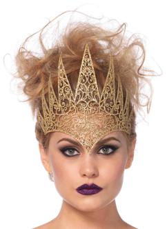 Die Cut Royal Golden Crown