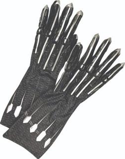 Adult Black Panther Costume Gloves