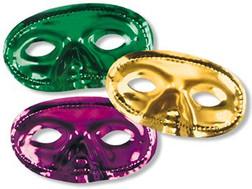 Metallic Partial Face Masquerade Mask