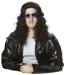 80'S Radio DJ Wig - Black