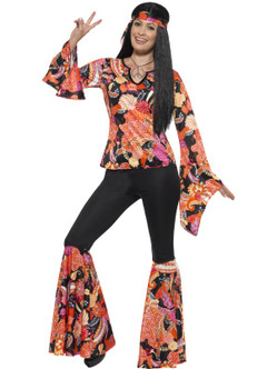70s Willow the Hippie Costume - Plus Size