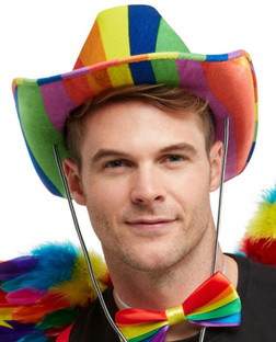 Rainbow Stetson Cowboy Hat