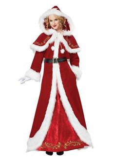 Mrs. Claus Deluxe Costume