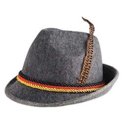 Felted German Alpine Oktoberfest Hat