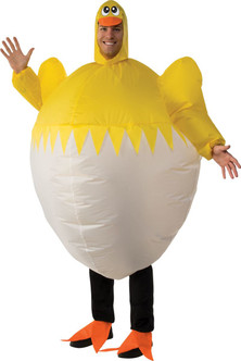 Inflatable Hatching Chick Costume