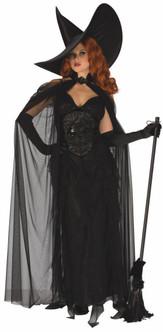 Elegant Black Witch Costume