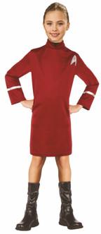 Children's Uhura Star Trek Movie Costume