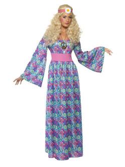 70s Flower Child Hippie Costume