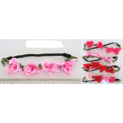 Rose Headband Hippie/Day of the Dead