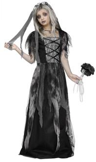 Children's Cemetery Widow Bride Costume