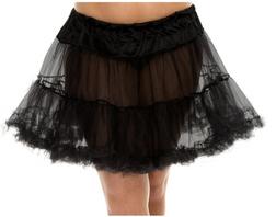 Tulle Petticoat Queen Size - Black