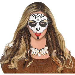 Witch Doctor Brown Hair Dreadlock Extensions
