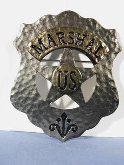 US Marshall/Sheriff Badge