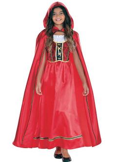 Teen's Fairytale Riding Hood Costume