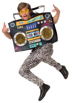 Boom Box Inflatable Costume