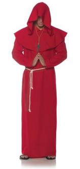 Red Monk Robe Costume