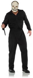 Black Boiler Suit Costume - Plus Size