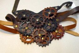 Steampunk Gear Choker