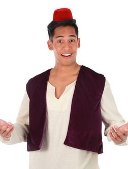 Aladdin Fez Hat & Vest