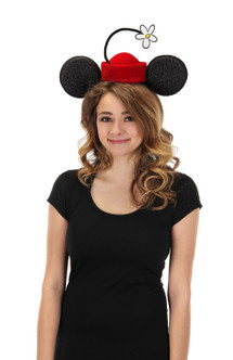 Minnie Mouse Vintage Flower Hat