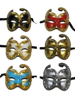 Venetian Half-Mask Assorted - Instore Only