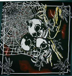 Bandana Spiders & Skulls