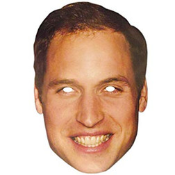 Prince William Paper Mask
