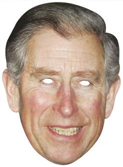 Prince Charles Paper Mask