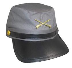Confederate Cap Grey