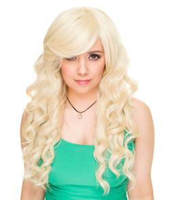 Mermaid Cosplay Rockstar Wig - Blonde